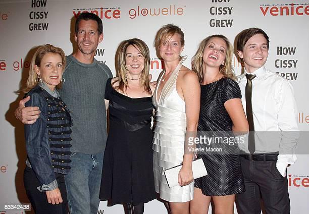 Actress Erin J. O'Brien, actor James Denton, director Casey Stangl, writer Susan Johnston, actress Liza Vital and actor Stewart W. Calhoun arrive at...
