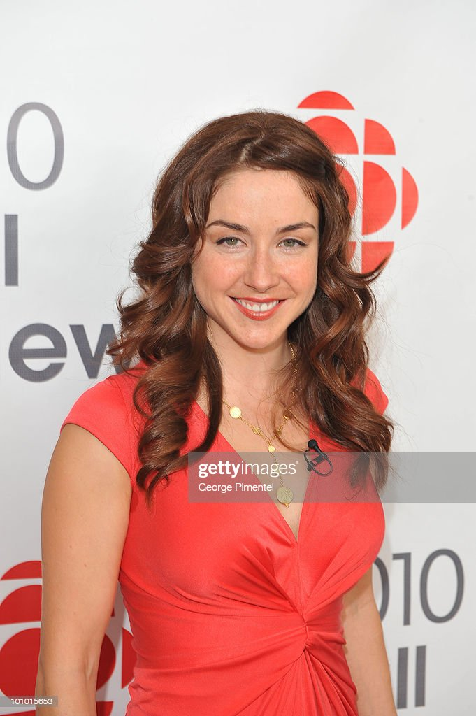 Actress Erin Karpluk attends CBC Television 2010 Fall Preview at the CBC Broadcast Centre on May 27, 2010 in Toronto, Canada.