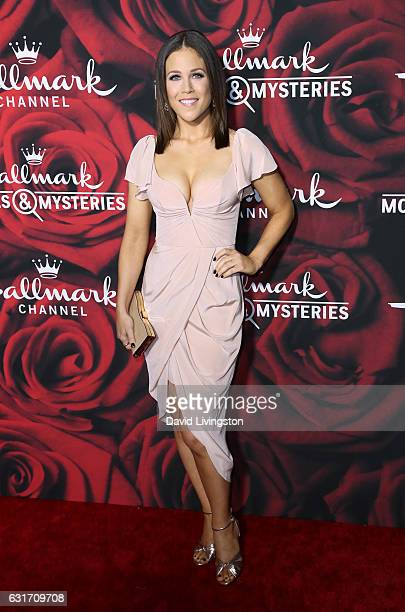 Actress Erin Krakow attends Hallmark Channel and Hallmark Movies and Mysteries Winter 2017 TCA Press Tour at The Tournament House on January 14 2017...