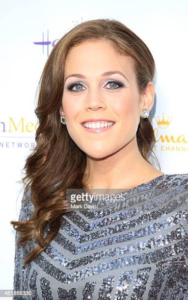 Actress Erin Krakow attends the Hallmark Channel Hallmark Movie Channel's 2014 Summer TCA Party on July 8 2014 in Beverly Hills California