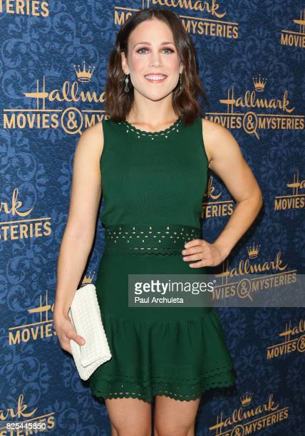 Actress Erin Krakow attends the premiere of Hallmark Movies Mysteries' Garage Sale Mystery at The Paley Center for Media on August 1 2017 in Beverly...