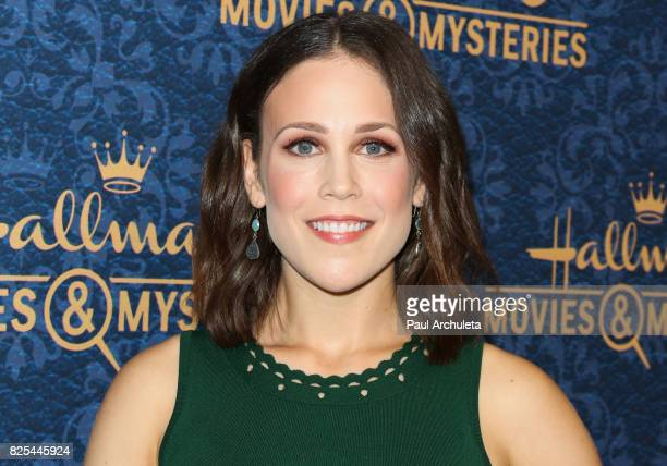 Actress Erin Krakow attends the premiere of Hallmark Movies Mysteries' 'Garage Sale Mystery' at The Paley Center for Media on August 1 2017 in...
