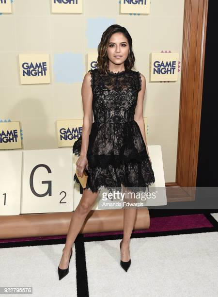 Actress Erin Lim arrives at New Line Cinema and Warner Bros Pictures' 'Game Night' Premiere at the TCL Chinese Theatre on February 21 2018 in...