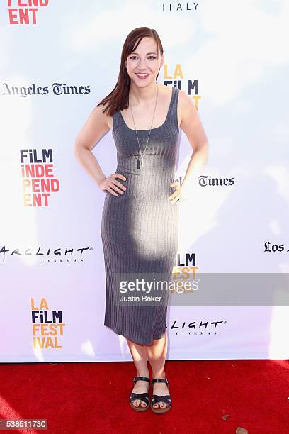 Actress Erin Maya Darke attends the premiere of 'Don't Think Twice' during the 2016 Los Angeles Film Festival at Arclight Cinemas Culver City on June...