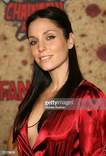 Actress Erin Michelle Lokitz attends the fuse Fangoria Chainsaw Awards at the Orpheum Theater on October 15 2006 in Los Angeles California The awards...