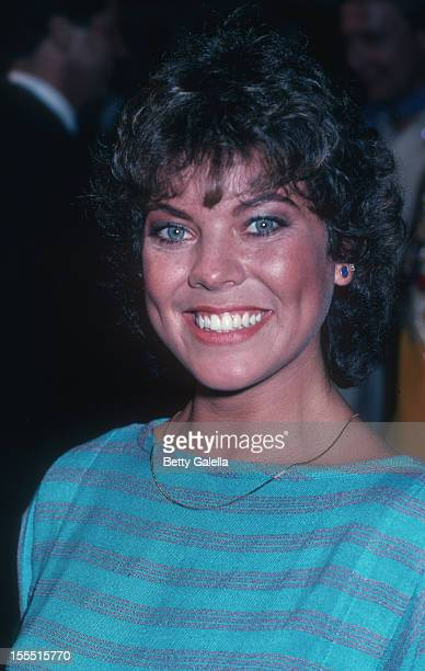 Actress Erin Moran attends 17th Annual Academy of Country Music Awards on April 29 1982 at Knott's Berry Farm in Buena Park California