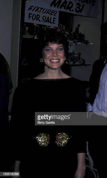 Actress Erin Moran attends 38th Annual Golden Globe Awards on January 31 1982 at the Beverly Hilton Hotel in Beverly Hills California