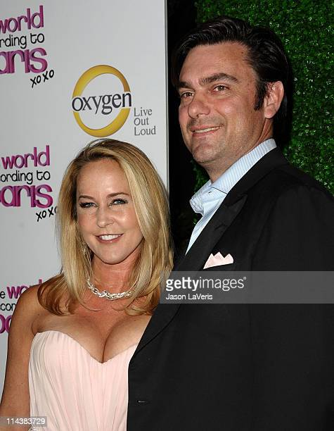 "Actress Erin Murphy and husband Darren Dunckel attend Oxygen's ""The World According To Paris"" premiere party at Tropicana Bar at The Hollywood..."