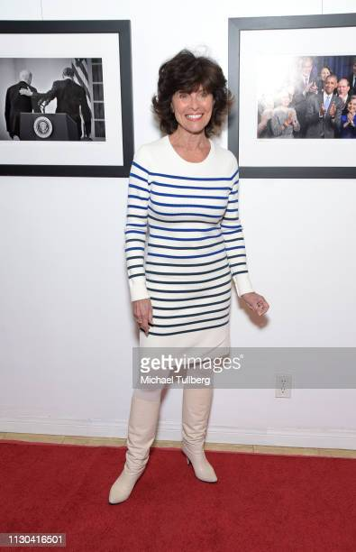Actress Erin Murphy attends the opening of photographer Anna Wilding's new exhibition Celebrate Hope The Obama White House Collection in honor of...