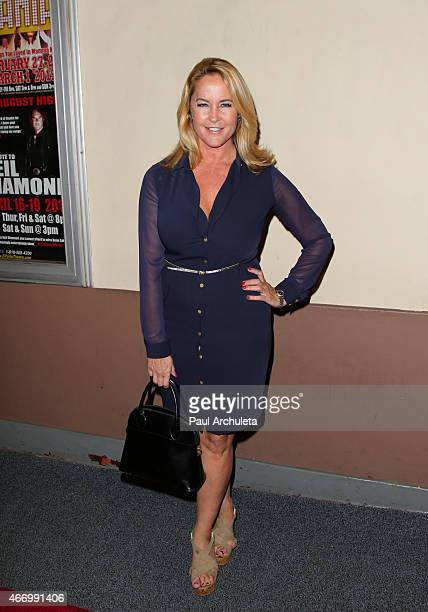 Actress Erin Murphy attends 'Twintastic' opening night at El Portal Theatre on March 19 2015 in North Hollywood California