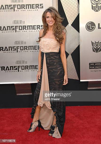 Actress Erin Naas arrives at the 2009 Los Angeles Film Festival's premiere of Transformers Revenge of the Fallen at the Mann Village Theatre on June...
