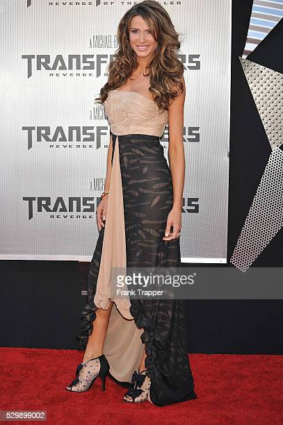 Actress Erin Naas arrives at the premiere of Dreamworks' Transformers Revenge of the Fallen held at Mann Village Theatre in Westwood