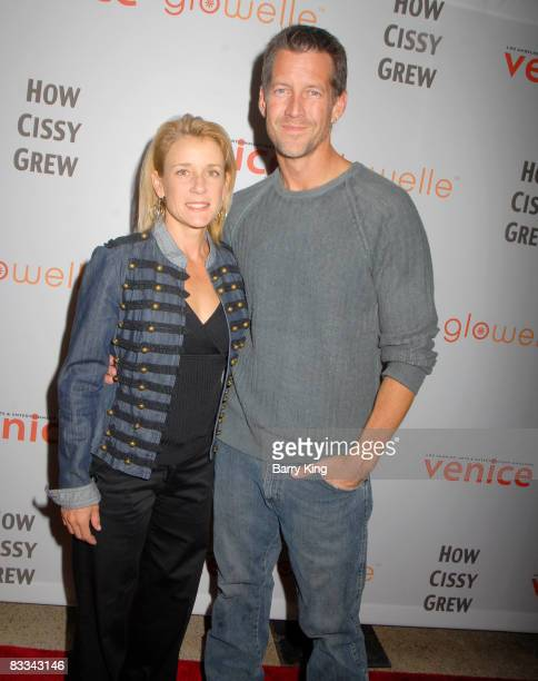 """Actress Erin O'Brien Denton and husband actor James Denton attend """"How Cissy Grew"""" performance at El Portal Forum Theatre on October 18, 2008 in..."""