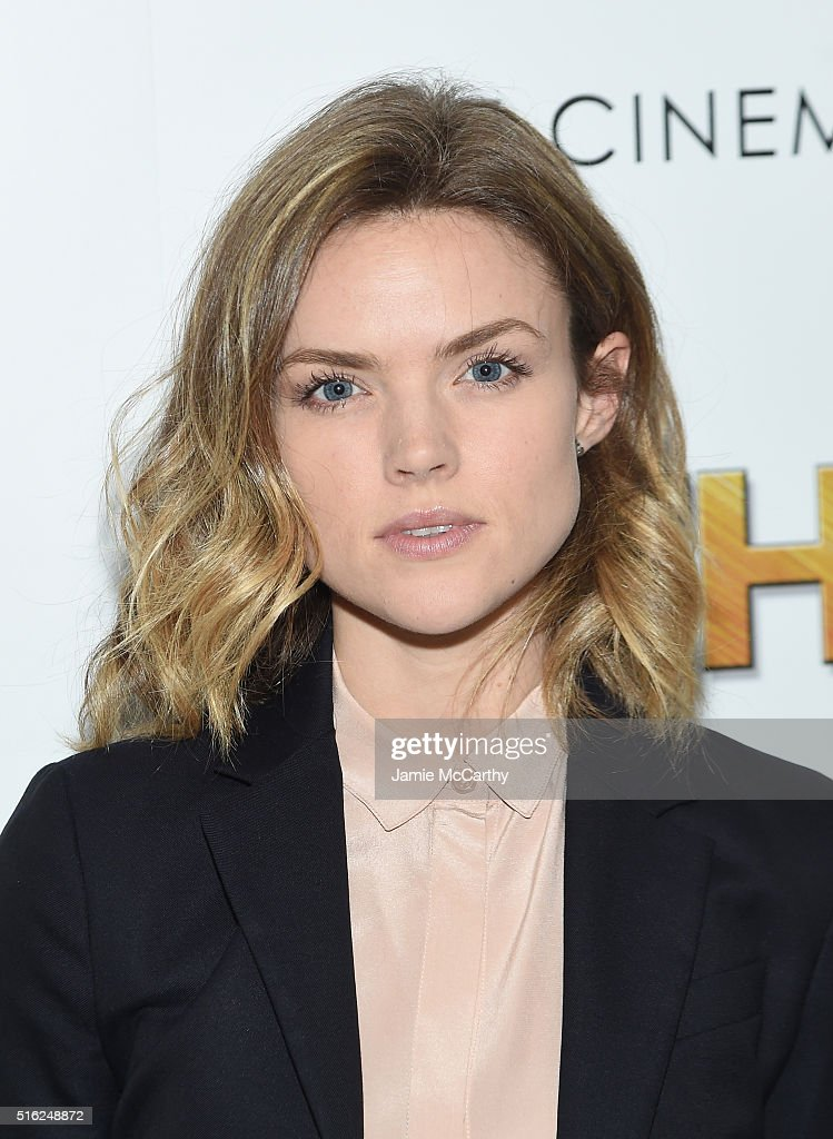 Actress Erin Richards attends a screening of Sony Pictures Classics' 'The Bronze' hosted by Cinema Society & SELF at Metrograph on March 17, 2016 in New York City.