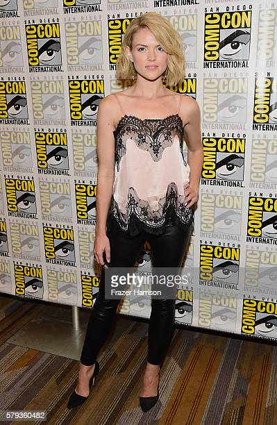 Actress Erin Richards attends 'Gotham' Press Line during ComicCon International 2016 at Hilton Bayfront on July 23 2016 in San Diego California