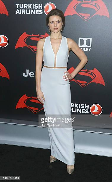 Actress Erin Richards attends the 'Batman V Superman Dawn Of Justice' New York premiere at Radio City Music Hall on March 20 2016 in New York City