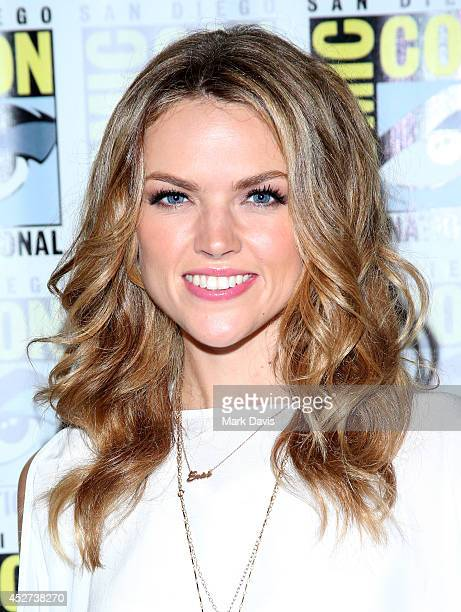 Actress Erin Richards attends the 'Gotham' press line during ComicCon International 2014 at Hilton Bayfront on July 26 2014 in San Diego California