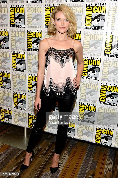 Actress Erin Richards attends the 'Gotham' press line during ComicCon International 2016 at Hilton Bayfront on July 23 2016 in San Diego California