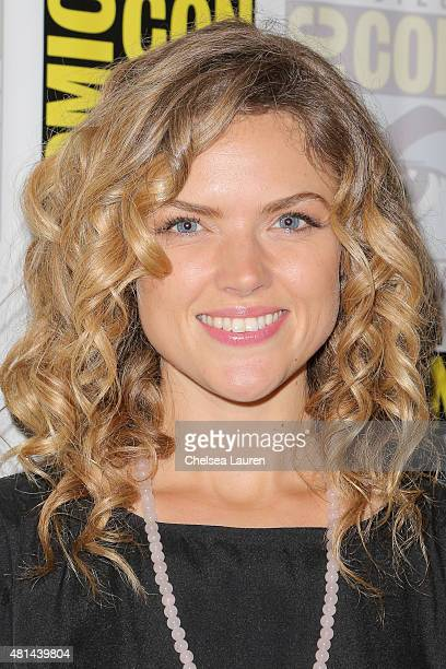 Actress Erin Richards attends the 'Gotham' press room on July 11 2015 in San Diego California