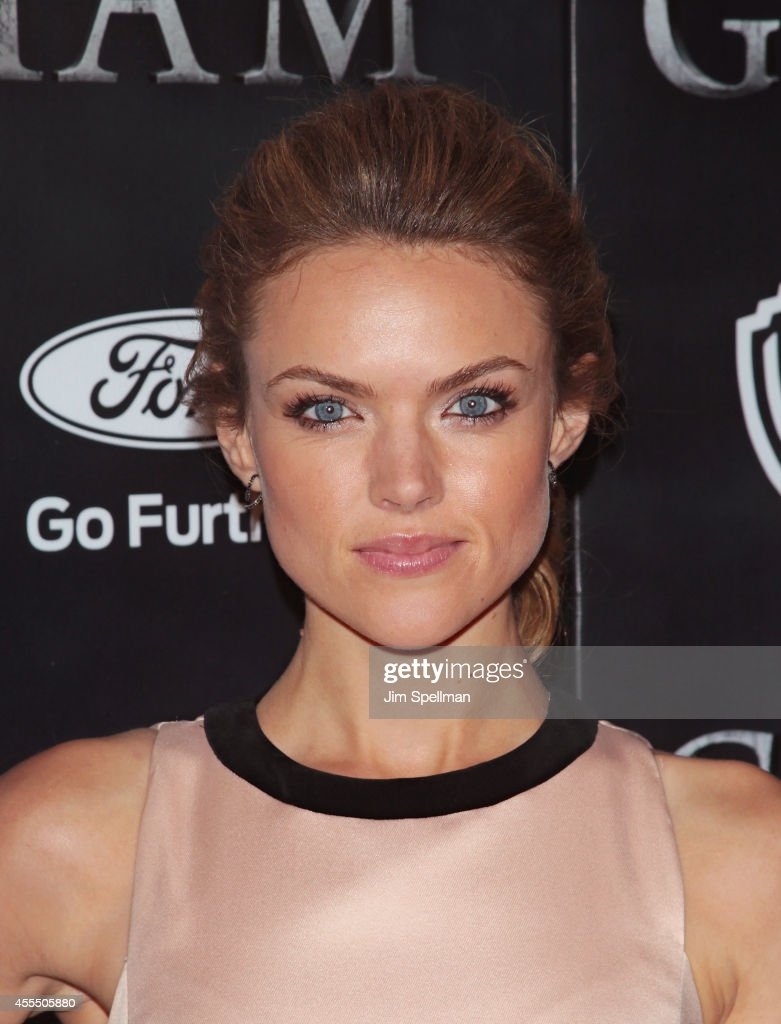 Actress Erin Richards attends the 'Gotham' Series Premiere at The New York Public Library on September 15, 2014 in New York City.