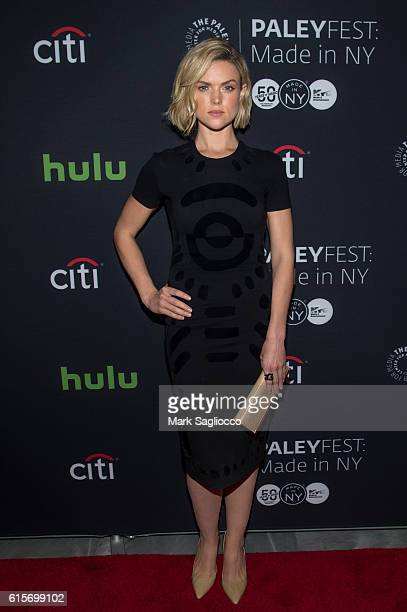 Actress Erin Richards attends the PaleyFest New York 2016 'Gotham' at The Paley Center for Media on October 19 2016 in New York City