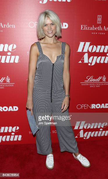 Actress Erin Richards attends the screening of Open Road Films' 'Home Again' hosted by The Cinema Society with Elizabeth Arden and Lindt Chocolate at...