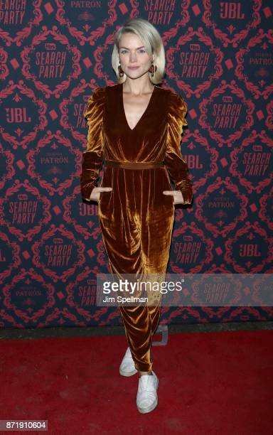 Actress Erin Richards attends the season 2 premiere of 'Search Party' hosted by TBS at Public Arts at Public on November 8 2017 in New York City