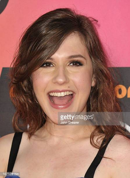 Actress Erin Sanders arrives at Nickelodeon's 23rd Annual Kids' Choice Awards held at UCLA's Pauley Pavilion on March 27 2010 in Los Angeles...