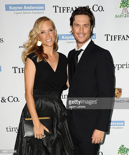 Actress Erinn Bartlett and actor Oliver Hudson attend the 2014 Baby2Baby gala at The Book Bindery on November 8 2014 in Culver City California