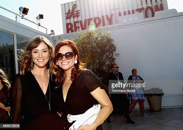 Actress Erinn Hayes and Executive Producer Dannah Phirman at the Hulu 2015 Summer TCA Presentation at The Beverly Hilton Hotel on August 9 2015 in...