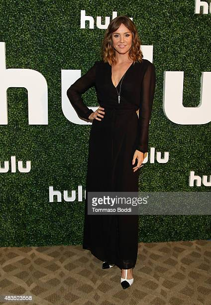Actress Erinn Hayes attends the Hulu 2015 Summer TCA Presentation at The Beverly Hilton Hotel on August 9 2015 in Beverly Hills California
