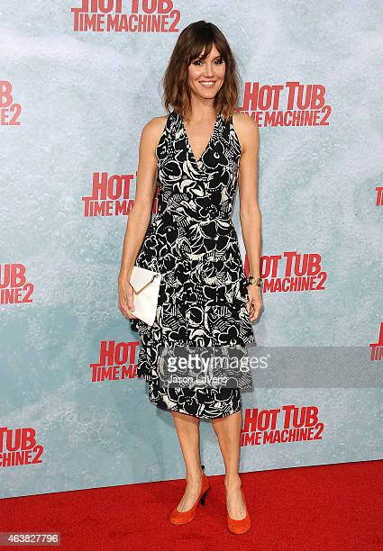 Actress Erinn Hayes attends the premiere of Hot Tub Time Machine 2 at Regency Village Theatre on February 18 2015 in Westwood California