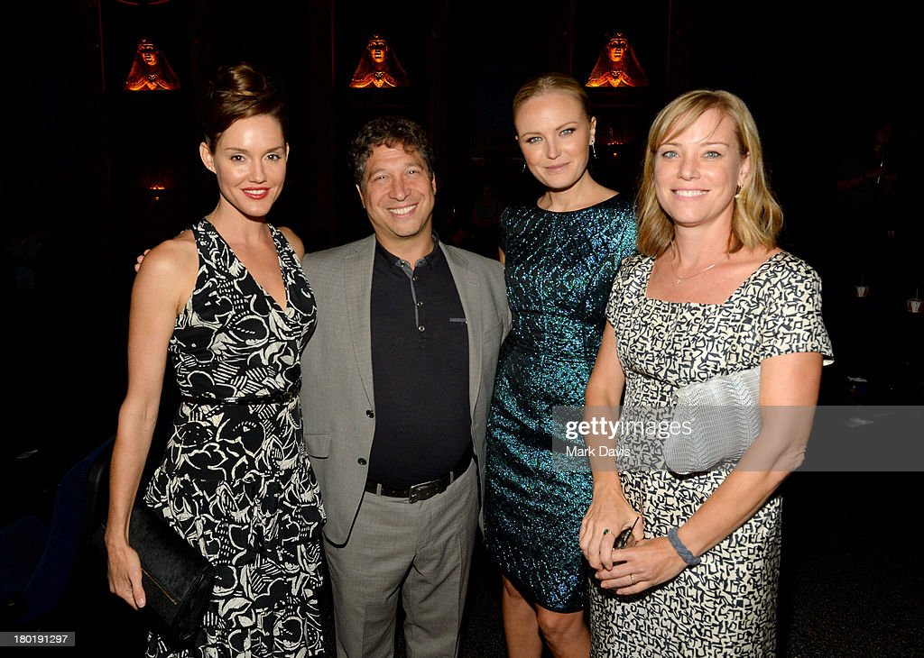 Actress Erinn Hayes, executive producer Jonathan Stern, actresses Malin Akerman and Erinn Hayes; Jonathan Stern; Malin Akerman;Zandy Hartig attend the 'Childrens Hospital' and 'NTSF:SD:SUV' screening event at the Vista Theatre on September 9, 2013 in Los Angeles, California. 24049_001_MD_0256.JPG