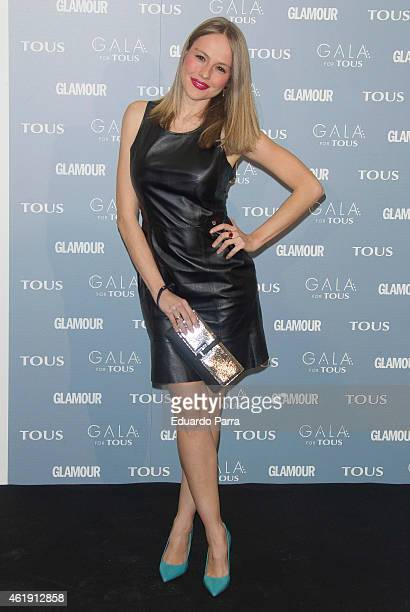 Actress Esmeralda Moya attends 'Gala for Tous' collection party photocall at Pons Foundation on January 21 2015 in Madrid Spain