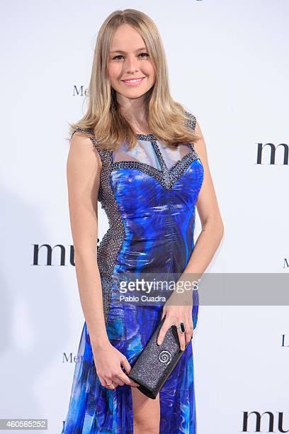 Actress Esmeralda Moya attends 'Mujer Hoy' awards gala at Palace Hotel on December 16 2014 in Madrid Spain