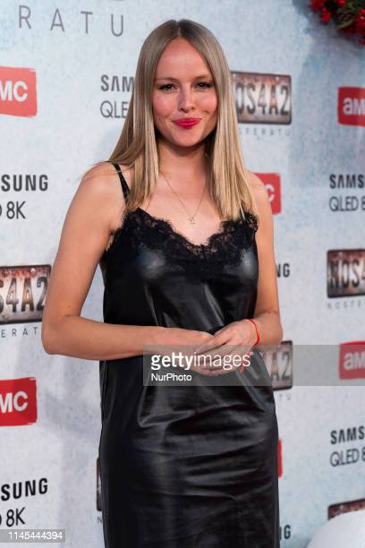 Actress Esmeralda Moya attends quotNOS4A2 Nosferatuquot premiere at the Capitol Cinema on May 21 2019 in Madrid Spain