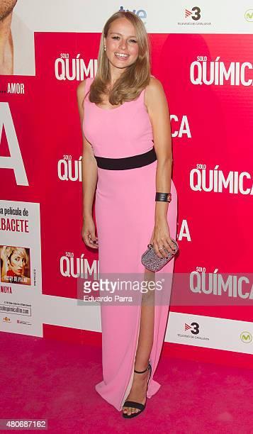 Actress Esmeralda Moya attends 'Solo Quimica' premiere at Palafox cinema on July 14 2015 in Madrid Spain