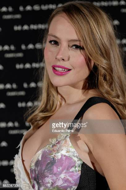 Actress Esmeralda Moya attends the Hannibal Laguna 30th anniversary Gala Dinner at the Santo Mauro hotel on November 30 2017 in Madrid Spain