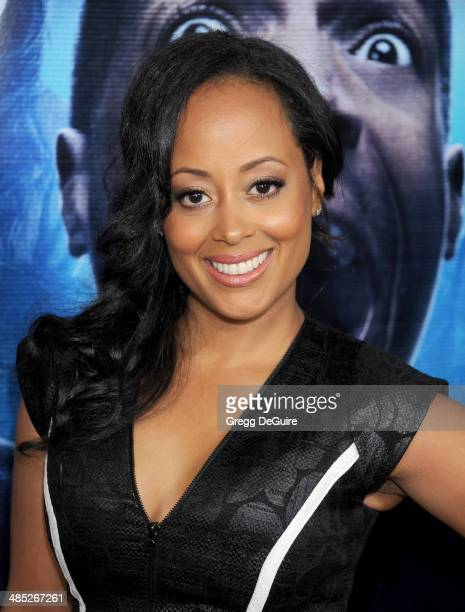 Actress Essence Atkins arrives at the Los Angeles premiere of 'A Haunted House 2' at Regal Cinemas LA Live on April 16 2014 in Los Angeles California