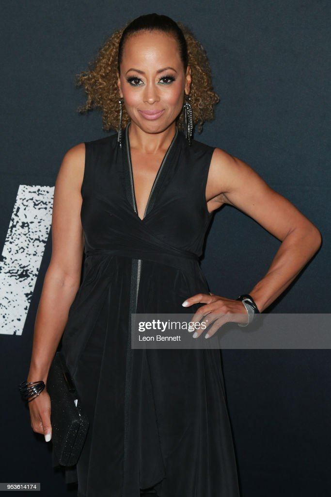 Actress Essence Atkins attend Universal Pictures' Special Screening Of 'Breaking In' - Arrivals at ArcLight Cinemas on May 1, 2018 in Hollywood, California.