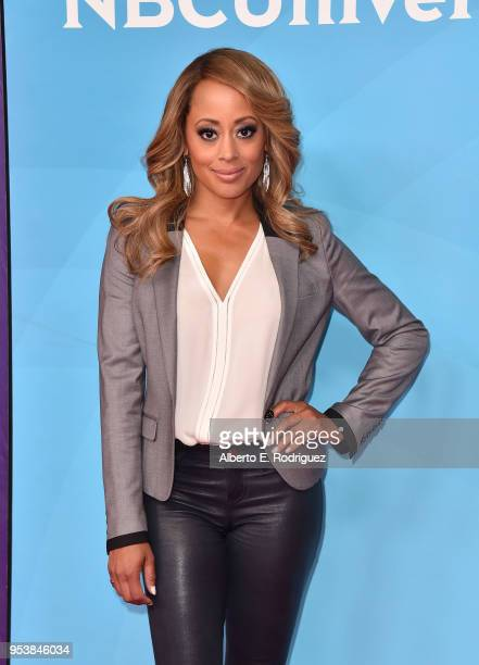 Actress Essence Atkins attends NBCUniversal's Summer Press Day 2018 at The Universal Studios Backlot on May 2 2018 in Universal City California