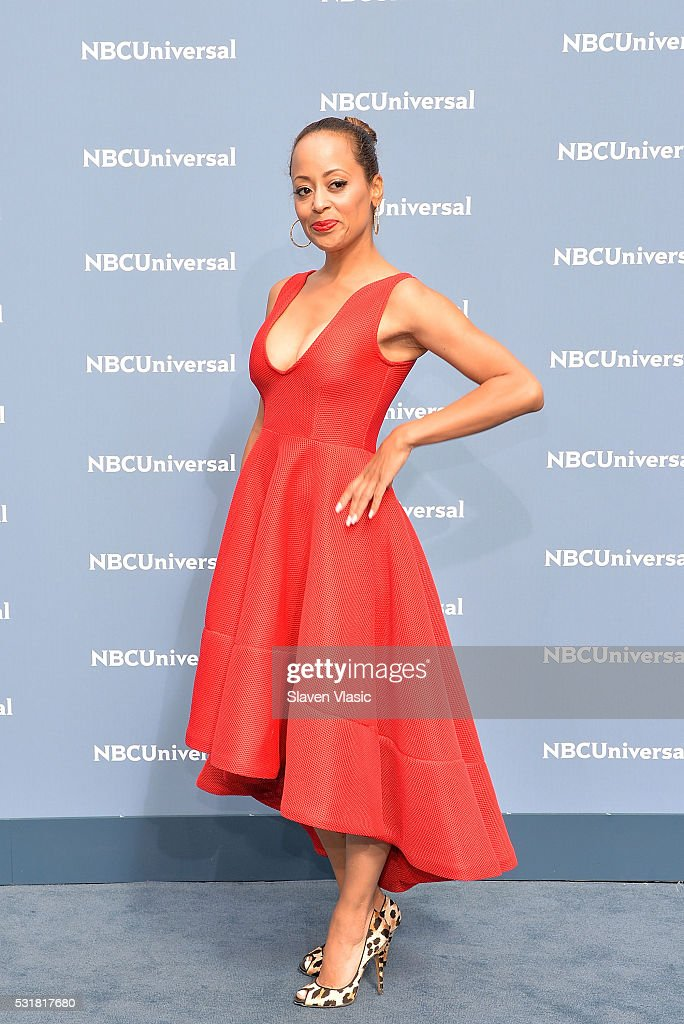 Actress Essence Atkins attends the NBCUniversal 2016 Upfront Presentation on May 16, 2016 in New York, New York.
