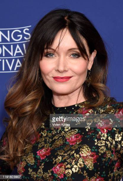 "Actress Essie Davis attends a screening of ""Miss Fisher and the Crypt of Tears"" at the 31st Annual Palm Springs International Film Festival on..."