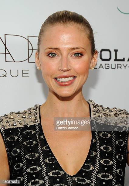 Actress Estella Warren arrives at The 2nd Annual Autumn Party Featuring A Fashion Show By Yigal Azrouel Benefiting Children's Institute held at The...