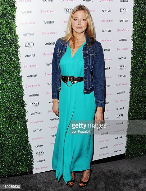 Actress Estella Warren arrives at the Vanity Fair And Juicy Couture Celebration Of The 2013 Vanities Calendar at Chateau Marmont on February 18 2013...