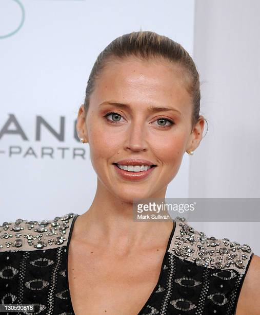 Actress Estella Warren attends The 2nd annual Autumn party benefiting Children's Institute at The London Hotel on October 26 2011 in West Hollywood...