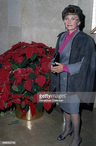 Actress Estelle Getty attends the 51st Annual Golden Apple Awards on December 8, 1991 in Los Angeles, California.