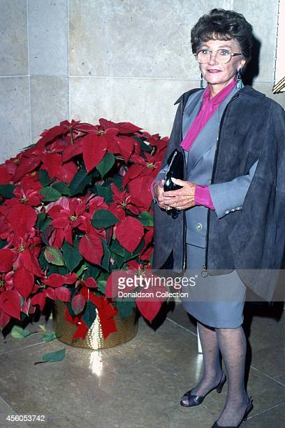 Actress Estelle Getty attends the 51st Annual Golden Apple Awards on December 8 1991 in Los Angeles California