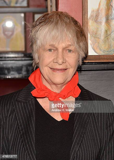 Actress Estelle Parsons attends the press preview for 'The Velocity of Autumn' at Sardi's on March 3 2014 in New York City