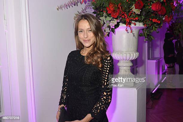Actress Estelle Skornik attend 'Aloha' Luxury Shop 1rst Anniversary Party Csocktail At Salons Hoche on December 19 2014 in Paris France